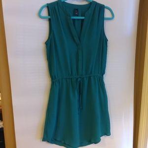 4/$25 GapMidi Dress Green S